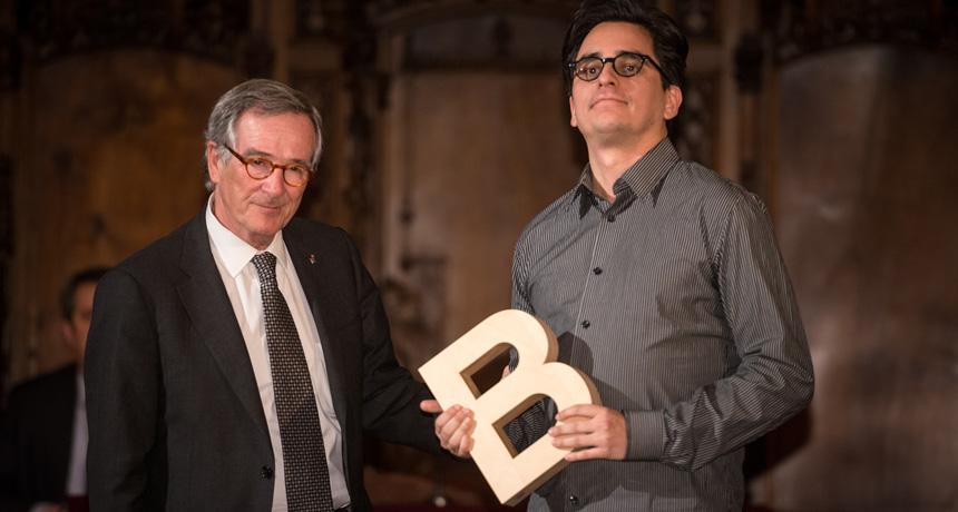 Andrés Duque - Premi Ciutat d'Audiovisuals Barcelona de 2012