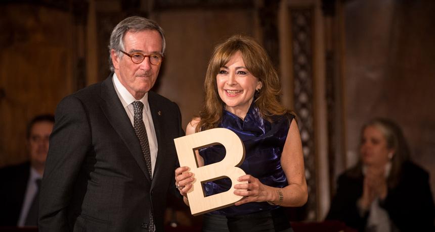 Rosa Badia - Premi Ciutat de Barcelona de Mitjans de comunicació 2012
