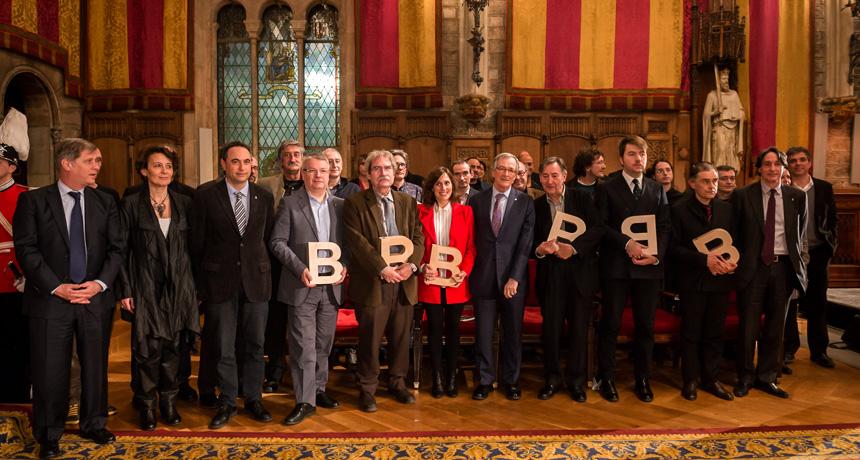 Guardonats - Premis Ciutat de Barcelona 2013