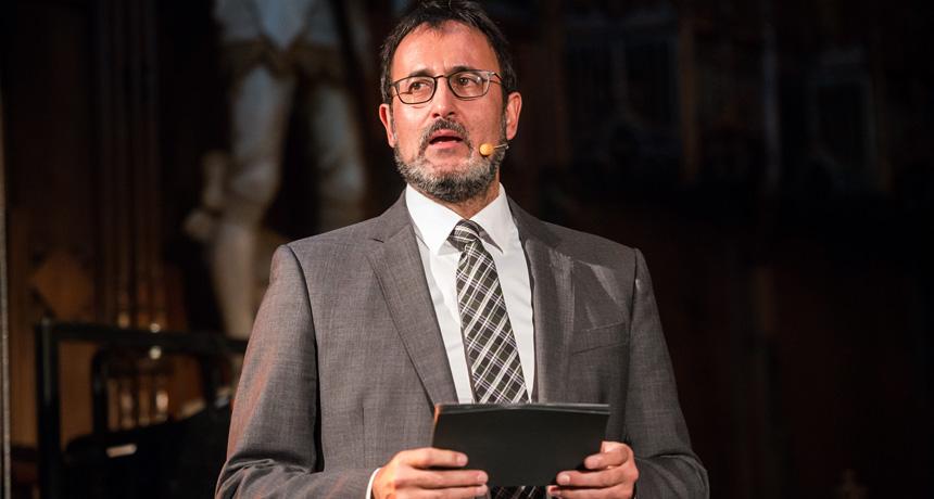 Xavier Graset - Acte de lliurament Premis Ciutat de Barcelona 2013