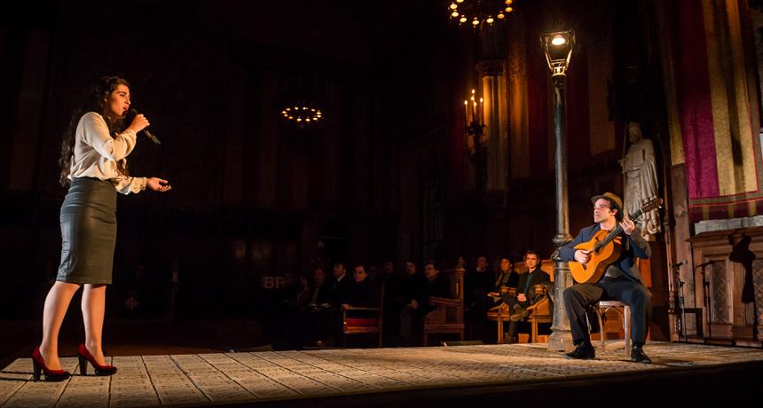 Sílvia Pérez Cruz i Mario Mas - Acte de lliurament Premis Ciutat de Barcelona 2013