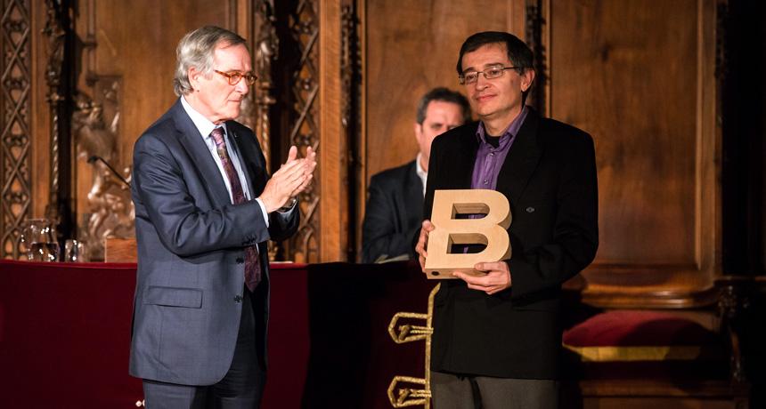 Enric Iborra - Premi Ciutat de Barcelona d'Assaig, ciències socials i humanitats 2013