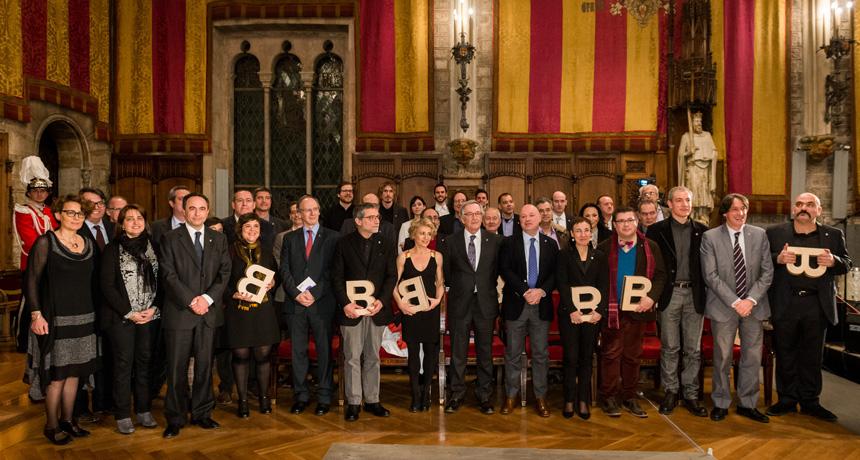 Guardonats - Premis Ciutat de Barcelona 2014