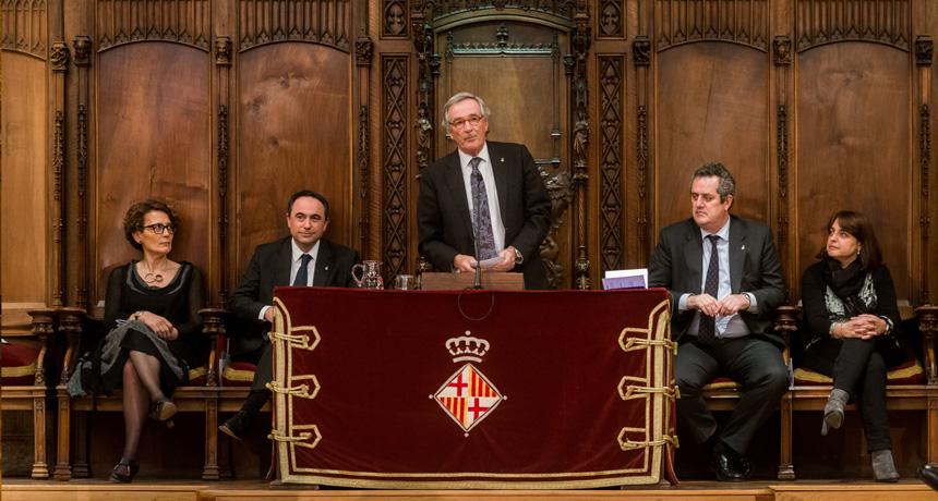 Xavier Trias - Premis Ciutat de Barcelona 2014