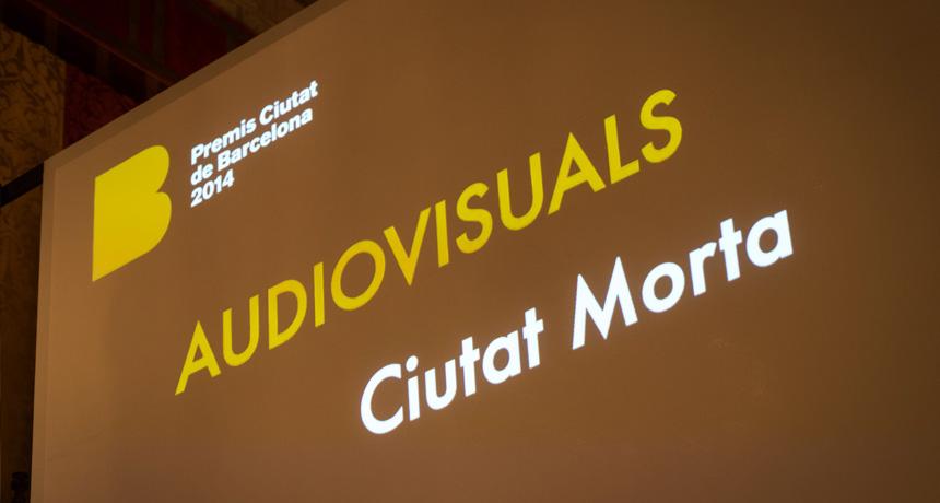 Premi Ciutat de Barcelona d'Audiovisuals 2014
