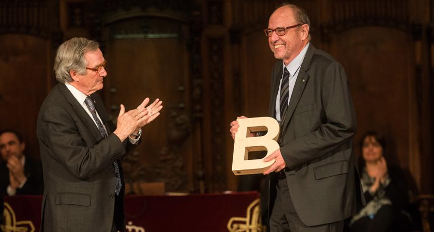 Dr. Ernest Giralt Lledó - Premi Ciutat de Barcelona de Ciències experimentals i tecnologia 2014