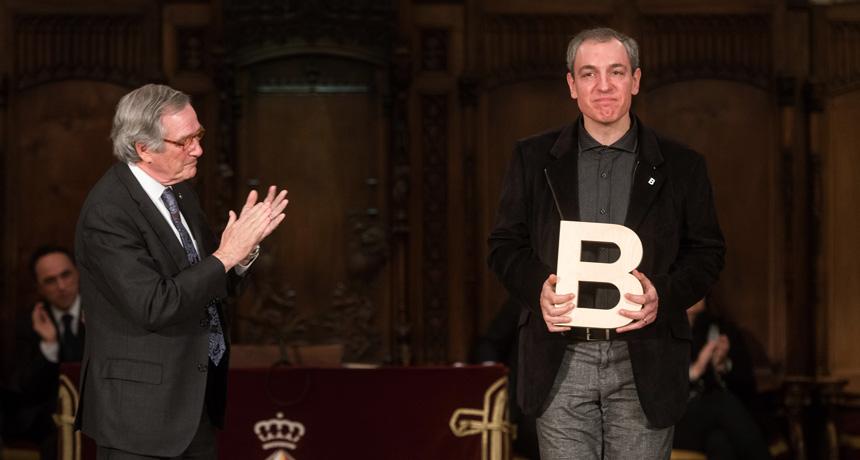 Carles Martínez - Premi Ciutat de Barcelona de Teatre 2014