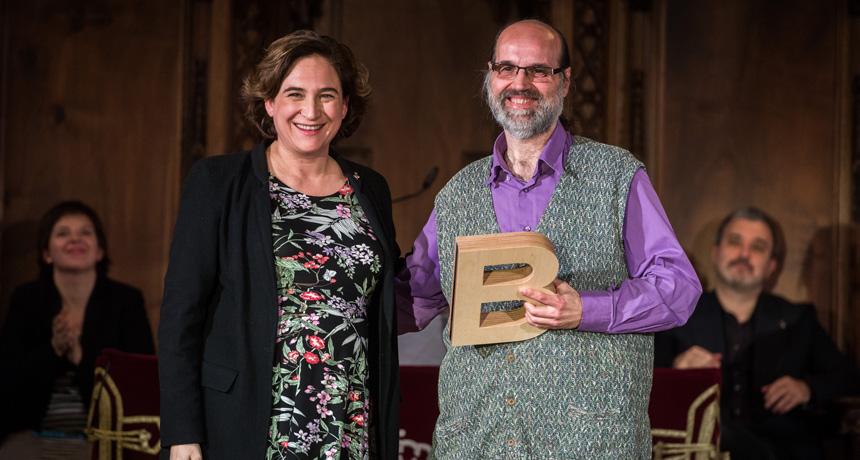 Alfred García de Mestres - Premi Ciutat de Barcelona d'Audiovisuals 2016