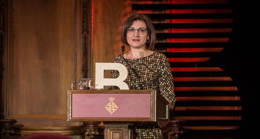 Dra. Carme Rovira Virgili - Premi Ciutat de Barcelona de Ciències Experimentals i Tecnologia 2016