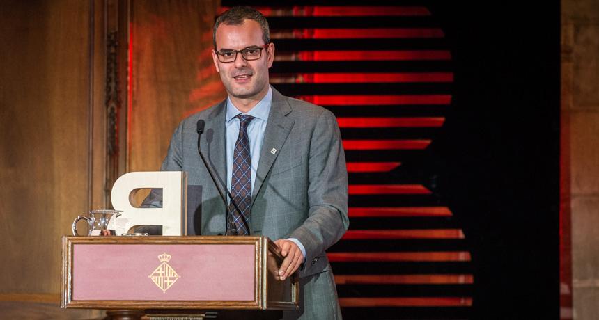 Dr. Salvador Aznar Benitah - Premi Ciutat de Barcelona Ciències de la Vida 2016