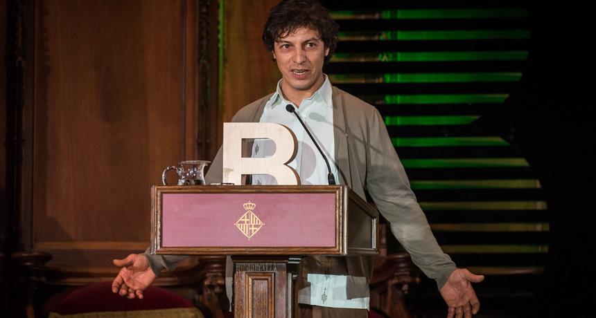Leandro Mendoza - Premi Ciutat de Barcelona de Circ 2016