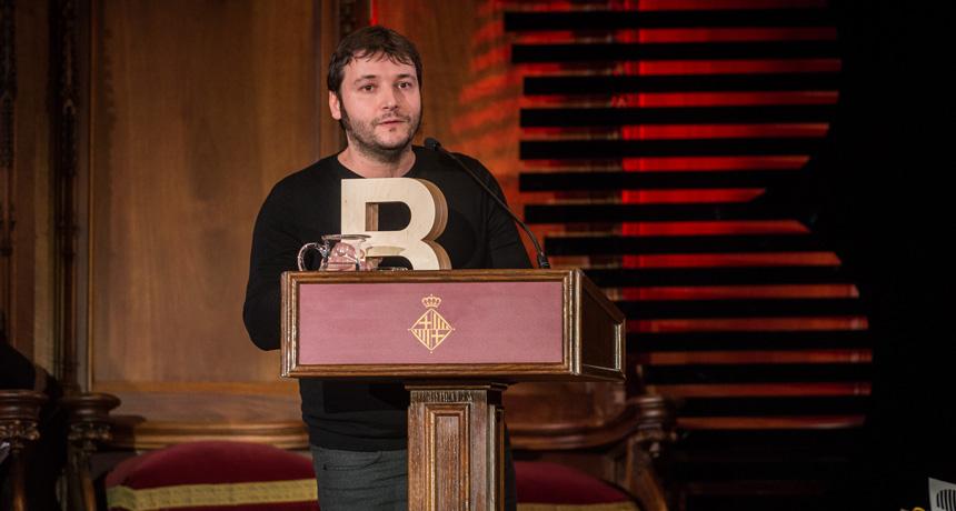 Carles Rebassa - Premi Ciutat de Barcelona de Literatura Catalana 2016