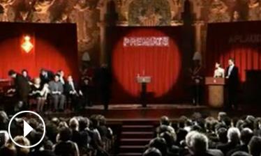 Video Acte de lliurament Premis Ciutat de Barcelona 2007