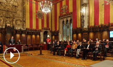 Video Acte de lliurament Premis Ciutat de Barcelona 2010
