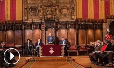 Video Acte de lliurament Premis Ciutat de Barcelona 2013