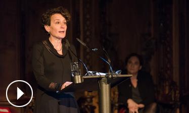 Vídeo discurs de Montserrat Vendrell - Premis Ciutat de Barcelona 2015