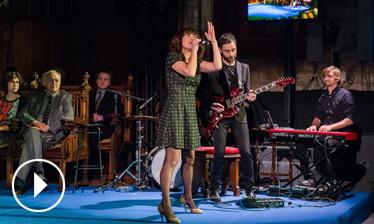 Vídeo actuació de Dolo Beltrán - Premis Ciutat de Barcelona 2015