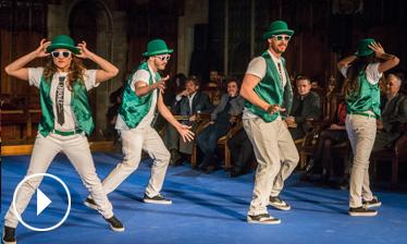Vídeo actuació de Brothers Bros - Premis Ciutat de Barcelona 2015