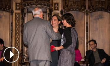 Video - Teresa Puig i Xavier Obradors - Premi Ciutat de Barcelona de Ciències experimentals i tecnologia 2015