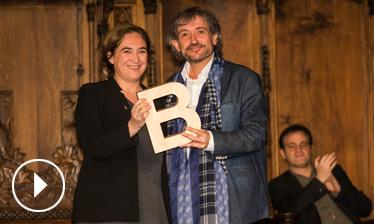 Video - Carles Capdevila - Premi Ciutat de Barcelona de Mitjans de comunicació 2015