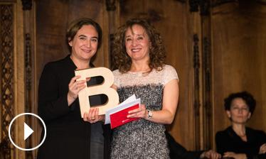 Video - Premi Ciutat de Barcelona de Projecció internacional de la ciutat de Barcelona 2015