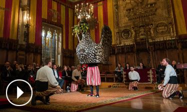 Video - Ball de l'àliga - Premis Ciutat de Barcelona 2016