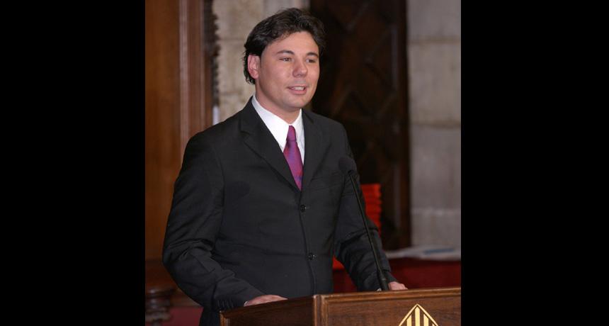 Miguel Poveda - Premi Ciutat de Barcelona de Música 2003