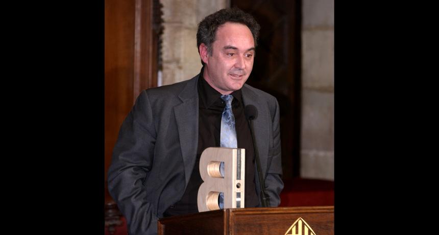 Ferran Adrià - Premi Ciutat de Barcelona de Projecció Internacional de la Ciutat de Barcelona 2003