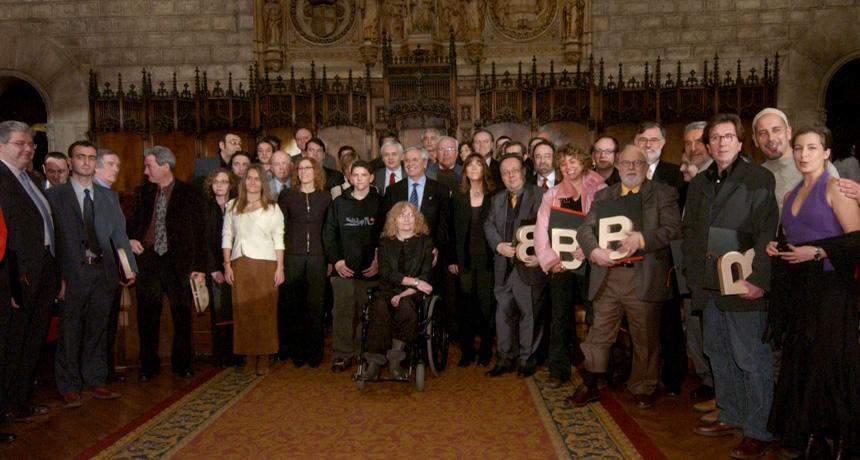 Guardonats - Premis Ciutat de Barcelona 2004