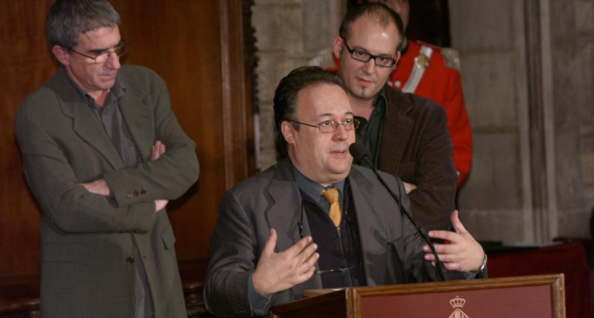 Joan Barril - Premi Ciutat de Barcelona de Mitjans de Comunicació en Ràdio 2004