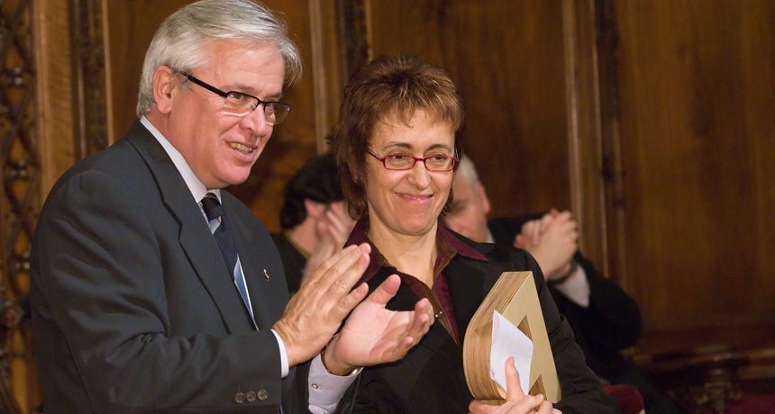 Isabel Ribera - Premi Ciutat de Barcelona d' Educació 2005