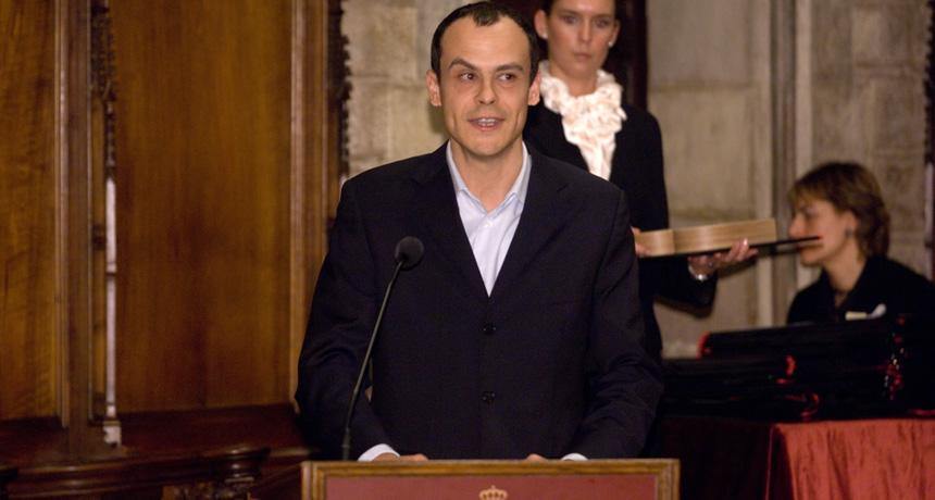 Albert Pol - Premi Ciutat de Barcelona d'Investigació Científica 2006