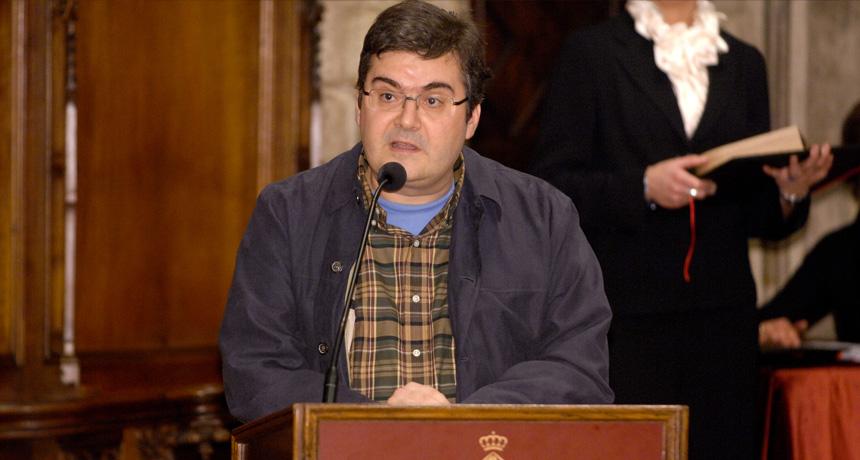 Sergi Pàmies - Premi Ciutat de Barcelona de Literatura en Llengua Catalana 2006