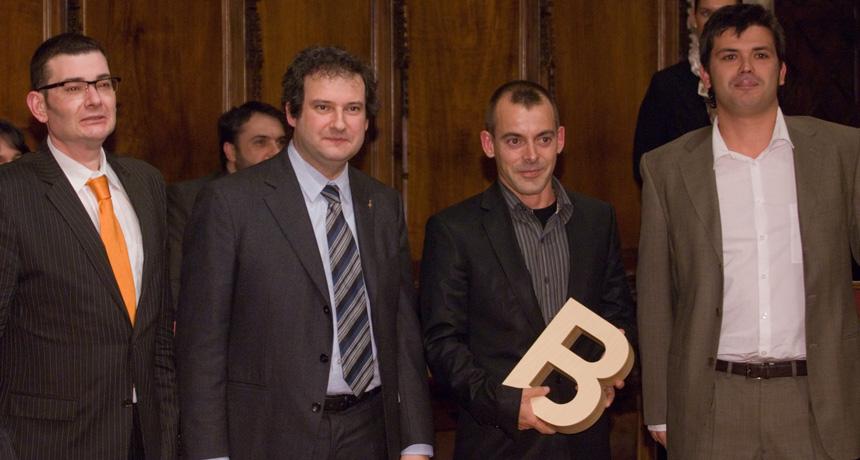Fèlix Martínez, Nando García i Joan Manuel Baliellas - Premi Ciutat de Barcelona de Mitjans de Comunicació en Premsa Escrita 2006