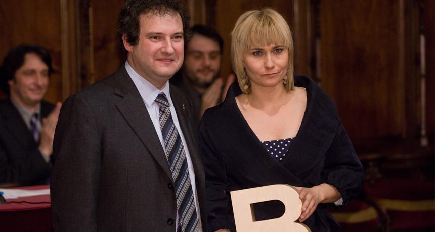 Mònica Terribas - Premi Ciutat de Barcelona de Mitjans de Comunicació en Televisió 2006
