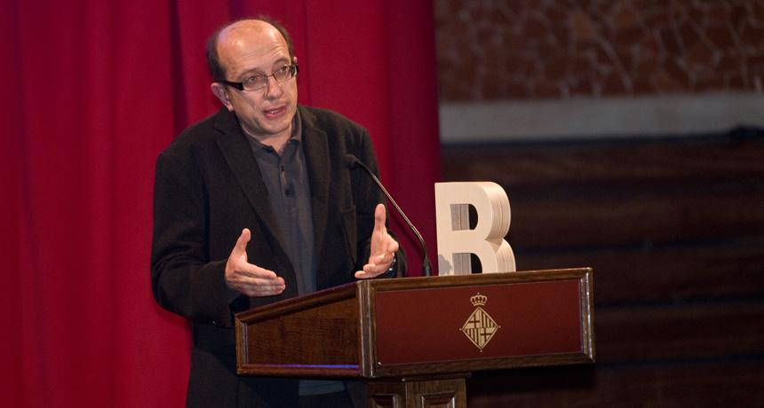 Manel Borrell - Premi Ciutat de Barcelona de Mitjans de comunicació en ràdio 2007