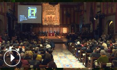 Lliurament dels Premis Ciutat de Barcelona 2017