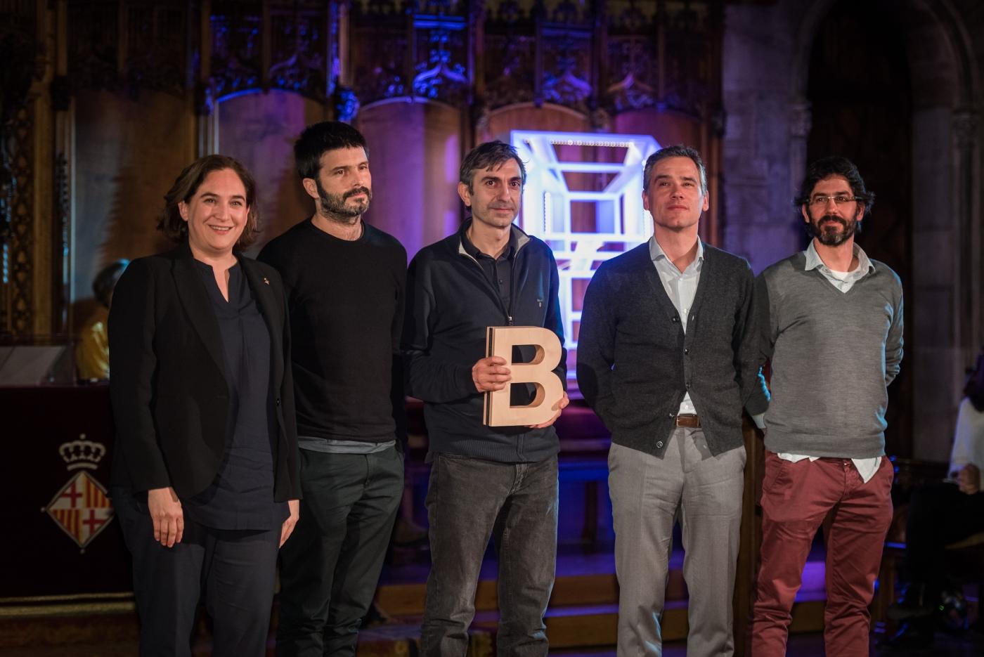 Harquitectes - Premi Ciutat de Barcelona d'Arquitectura i Urbanisme 2017