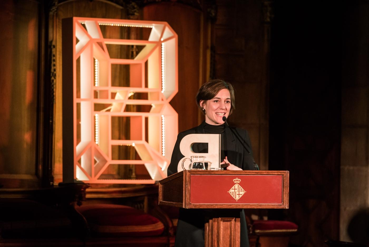 Carla Simón - Premi Ciutat de Barcelona d'Audiovisuals 2017