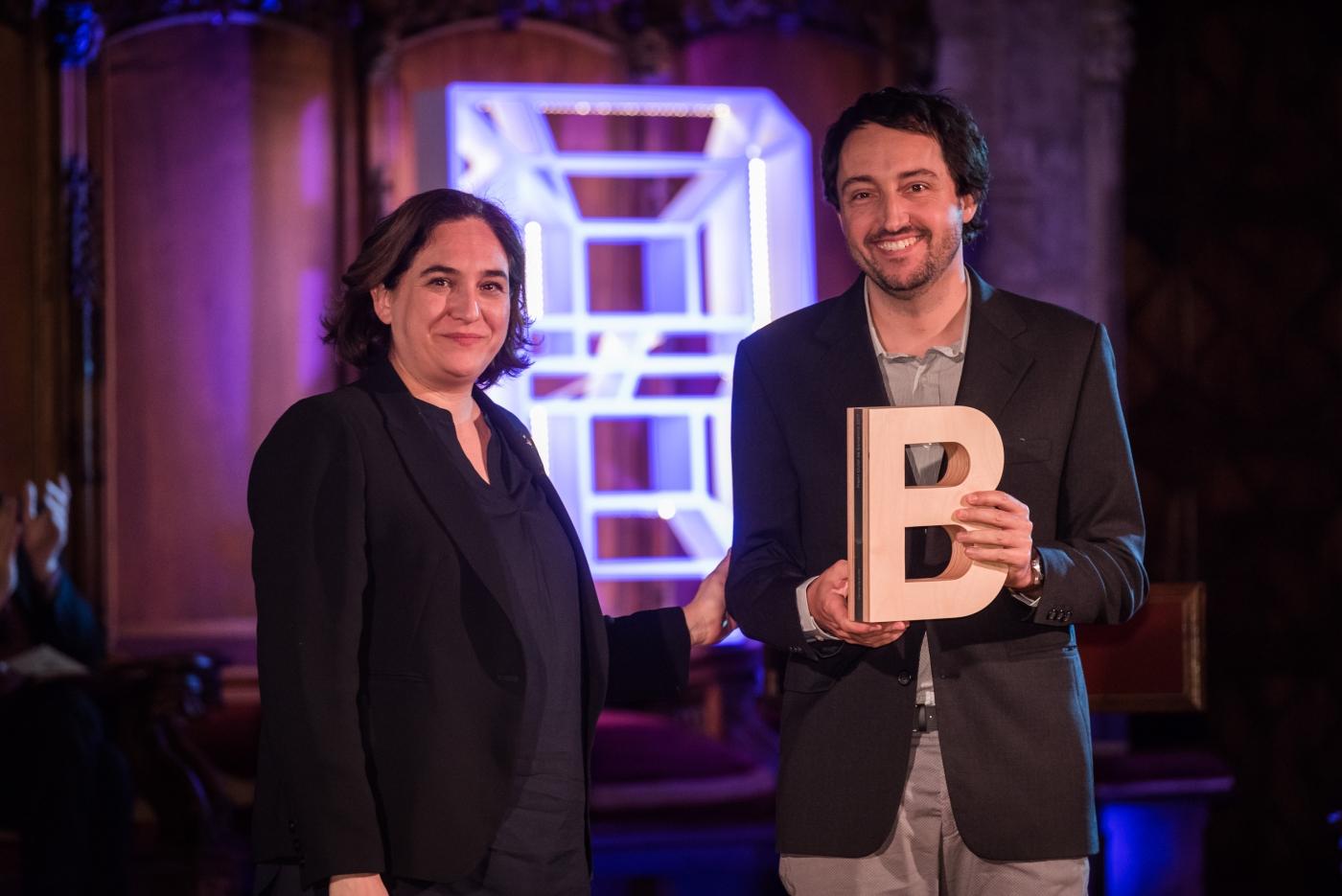 Pere Roca-Cusachs - Premi Ciutat de Barcelona de Ciències de la vida 2017