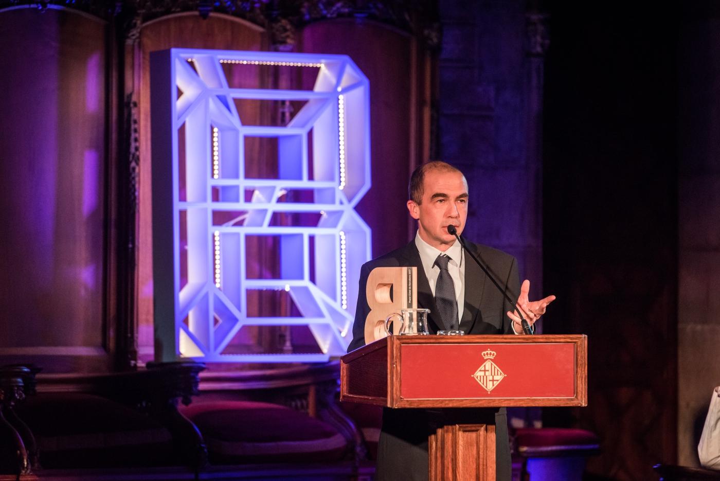 Hugues de Riedmatten - Premi Ciutat de Barcelona de Ciències experimentals i Tecnologia 2017