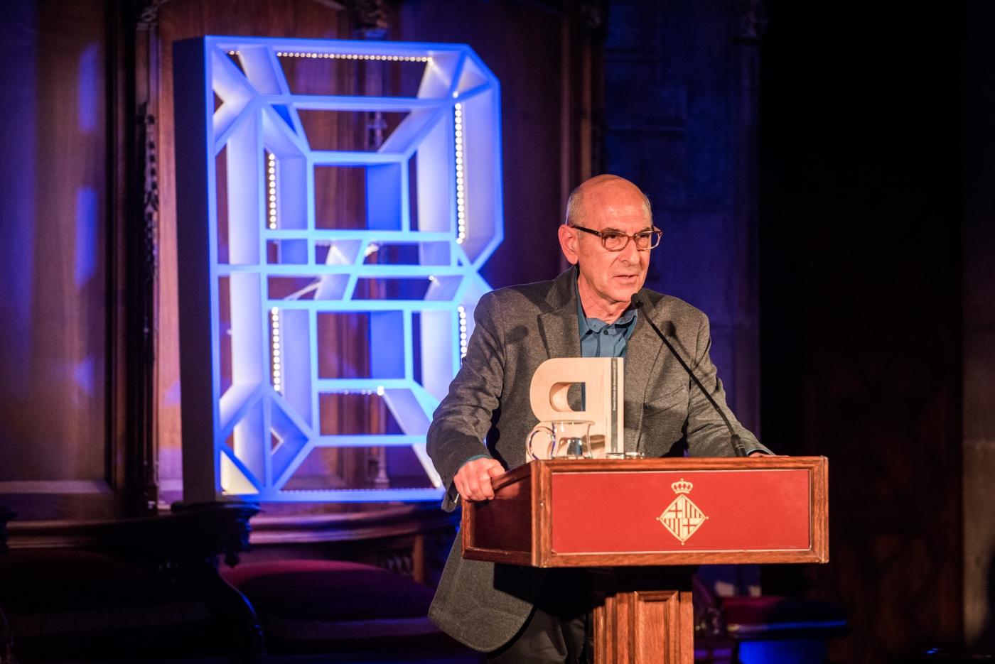 Juan Luis Ramos - Premi Ciutat de Barcelona de Literatura en llengua castellana 2017