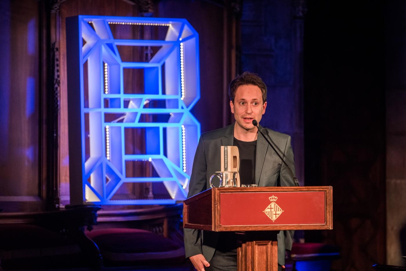Max Besora - Premi Ciutat de Barcelona de Literatura en llengua catalana 2017