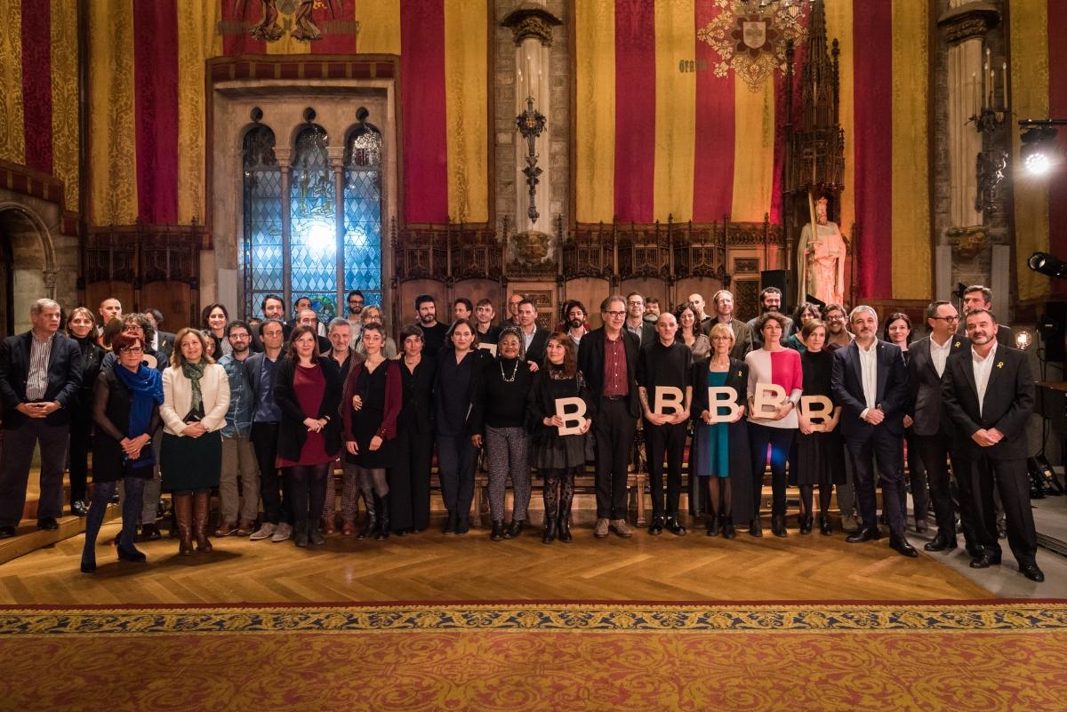 Guardonats Premis Ciutat de Barcelona 2017