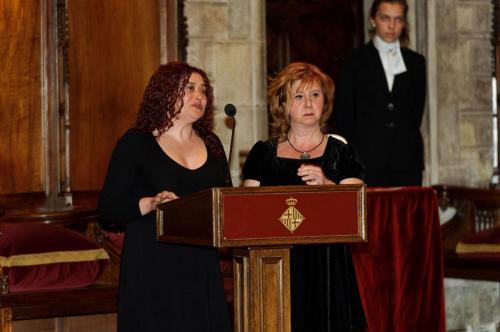 Gemma Castro i Gemma Montoya (projecte Bandes Fora)- Premi Ciutat de Barcelona d'Educació 2010