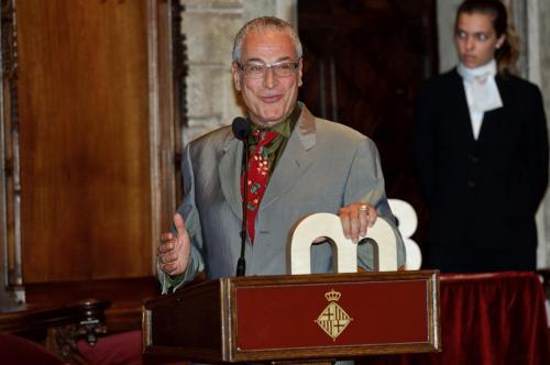 Lluís Miñarro- Premi Ciutat de Barcelona d'Audiovisuals 2010