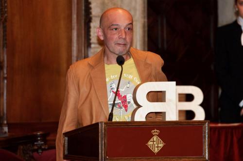 Ponç Puigdevall - Premi Ciutat de Barcelona de Literatura en llengua catalana 2010