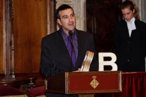Toni Marín - Premi Ciutat de Barcelona de Mitjans de comunicació 2010