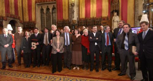 Guardonats - Premis Ciutat de Barcelona 2003