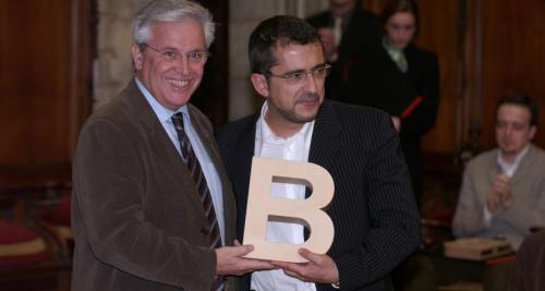 Andreu Buenafuente - Premi Ciutat de Barcelona de Mitjans de Comunicació en Ràdio i Televisió 2003